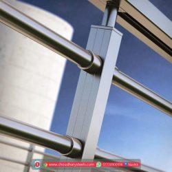 स्टेनलेस स्टील रेलिंग विक्रेता, नासिक Choudhary Steel Industries (46)