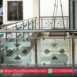 स्टेनलेस स्टील रेलिंग विक्रेता, नासिक Choudhary Steel Industries (95)