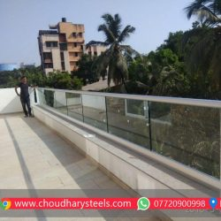 Modern Stainless Steel Glass Railing Nashik (1)
