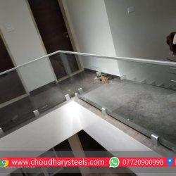 Modern Stainless Steel Glass Railing Nashik (101)