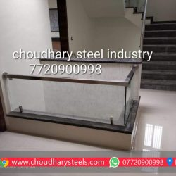 Modern Stainless Steel Glass Railing Nashik (103)