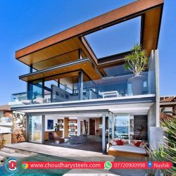 Modern Stainless Steel Glass Railing Nashik (11)