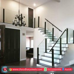 Modern Stainless Steel Glass Railing Nashik (15)