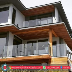 Modern Stainless Steel Glass Railing Nashik (28)