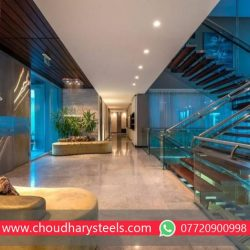 Modern Stainless Steel Glass Railing Nashik (3)