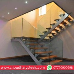 Modern Stainless Steel Glass Railing Nashik (30)