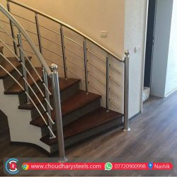 Modern Stainless Steel Glass Railing Nashik (32)