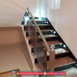 Modern Stainless Steel Glass Railing Nashik (33)