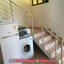 Modern Stainless Steel Glass Railing Nashik (38)