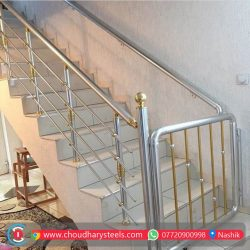 Modern Stainless Steel Glass Railing Nashik (39)