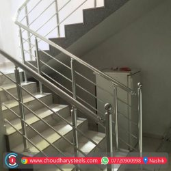 Modern Stainless Steel Glass Railing Nashik (40)