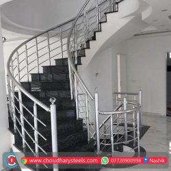 Modern Stainless Steel Glass Railing Nashik (41)
