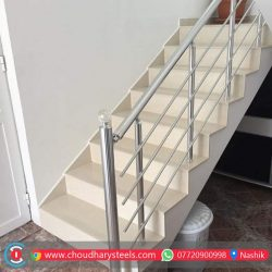 Modern Stainless Steel Glass Railing Nashik (53)