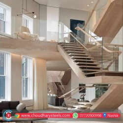 Modern Stainless Steel Glass Railing Nashik (6)