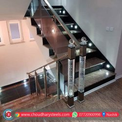 Modern Stainless Steel Glass Railing Nashik (60)