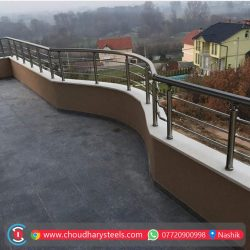 Modern Stainless Steel Glass Railing Nashik (65)
