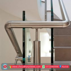 Modern Stainless Steel Glass Railing Nashik (69)
