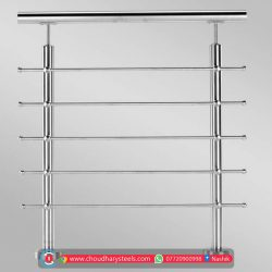 Modern Stainless Steel Glass Railing Nashik (70)