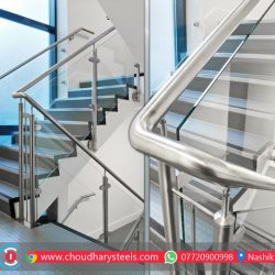 Modern Stainless Steel Glass Railing Nashik (72)
