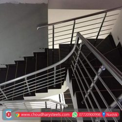 Modern Stainless Steel Glass Railing Nashik (75)