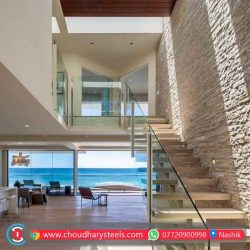 Modern Stainless Steel Glass Railing Nashik (8)