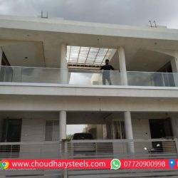 Modern Stainless Steel Glass Railing Nashik (95)