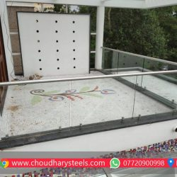 Modern Stainless Steel Glass Railing Nashik (96)