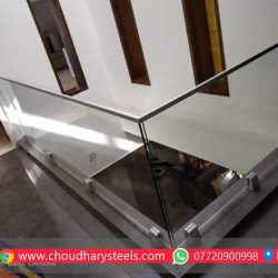 Modern Stainless Steel Glass Railing Nashik (97)