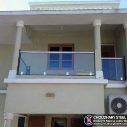 Modern Steel and Glass Railing Choudhary Steel Nashik (9)